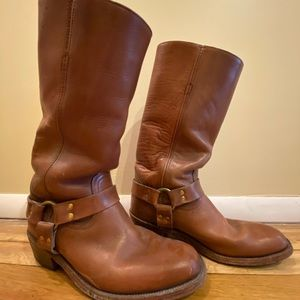 Frye Harness calf boots